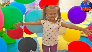 Развлекательный центр для Детей с Прозрачными БАТУТАМИ | Indoor Playground for Kids