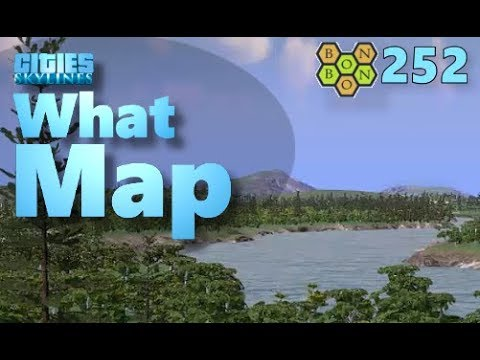 Cities Skylines - What Map - Map Review 252 - White Harbor