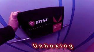 Розпакування (Unboxing) MSI RX VEGA 64 8G