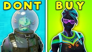 TOP 5 SKINS You SHOULD NEVER BUY! (Fortnite Battle Royale)