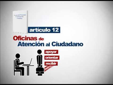 Funciones de la oficina de atenci n al ciudadano youtube for Oficina del ciudadano