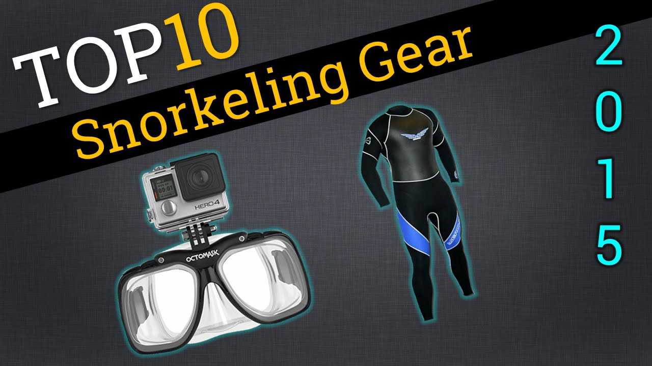 Top 10 Snorkel Gear 2015   Compare Snorkel Gear - YouTube