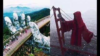 """Bàn tay đỡ lấy Cầu Vàng đã là gì, """"tử thần"""" đỡ lấy cầu """"đỏ"""" như này mới thật sự đỉnh!"""