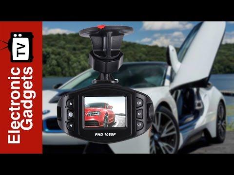 Full HD Dash Cam With 170 Degree And Sony Sensor, G-Sensor, Loop Recording