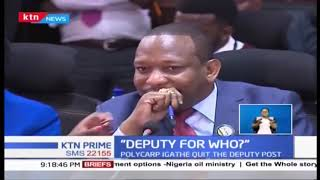 ''Deputy for who?'' Sonko dismisses push to name deputy terming it as a non-issue