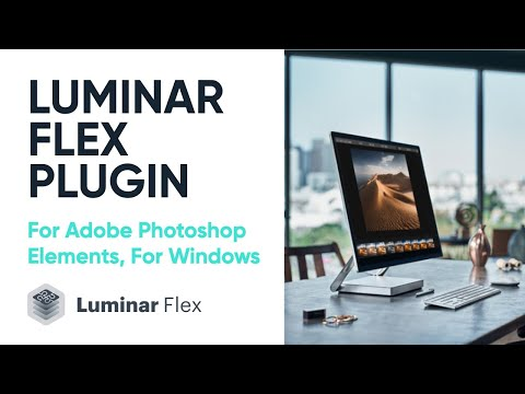Luminar Flex Plugin For Adobe Photoshop Elements — Win | Installing And Activating