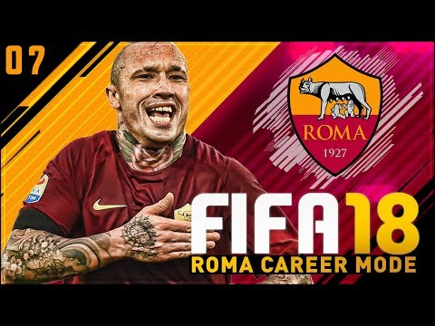FIFA 18 Roma Career Mode Ep7 - INTENSE GAME vs AC MILAN!!