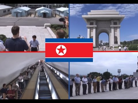 My Trip to North Korea: An Official State Tourism Video - Pyongyang, DMZ, USS Pueblo and more