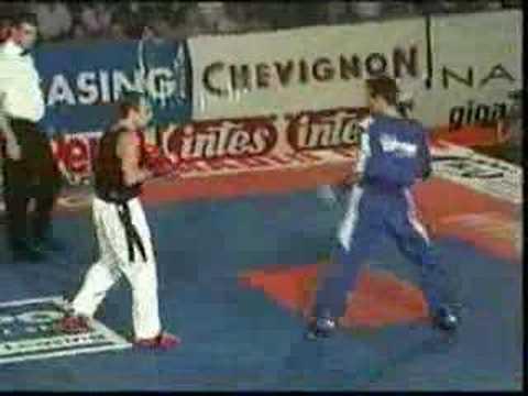 WAKO Kickboxing: Tomaz Barada Vs. Stewart Lawson Round 1&2