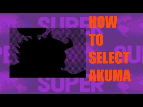 Super Street Fighter II: Turbo - How To Select Akuma