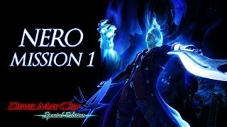 Devil May Cry 4: Special Edition [HD] Nero/Dante Playthrough [LDK Mode] (Mission 1)