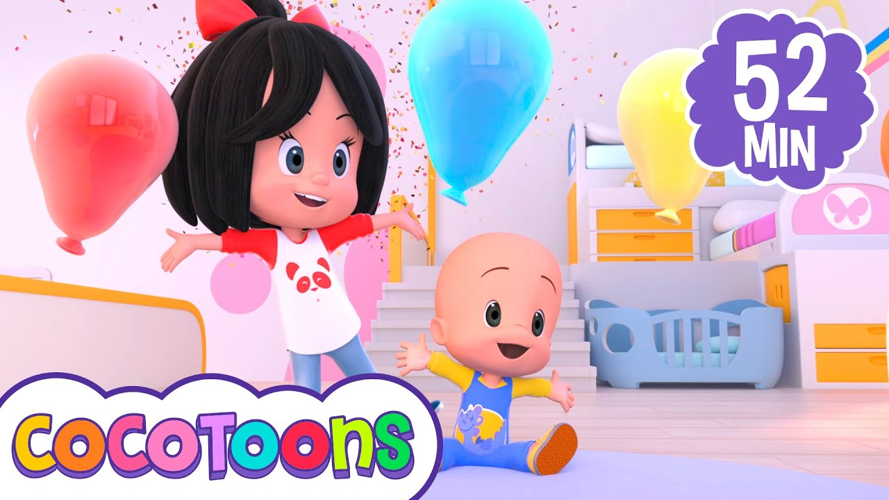 Cumpleaños feliz canción infantil de Cleo y Cuquin (y más canciones) - Cocotoons