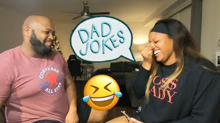 DAD JOKES | TRY NOT TO LAUGH | VLOGMAS DAY 14-15
