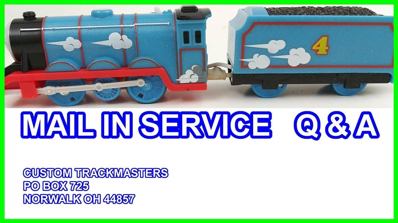 PRE-ORDER custom FR Edward Thomas /& friends trackmaster motorized train youtube