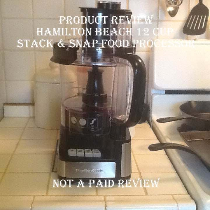 Product Review Hamilton Beach 12 Cup Stack Snap Food Processor
