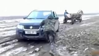 Видео Подборка Приколов с Транспортом Приколы с Автомобилями 21 Авто приколы2014