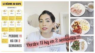 Je teste le régime aux Oeufs | Perdre 11 kg en 2 semaines ??!! | ça fonctionne ?
