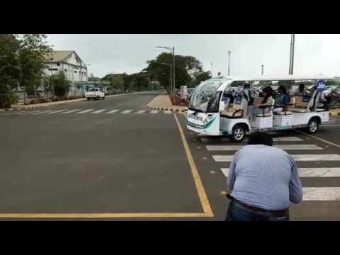 Driverless Transport at Reliance corporate park Mumbai