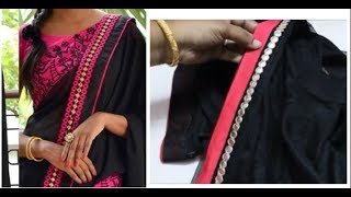 Hand Made Border For Saree / Duppata  Simple & Easy To Make