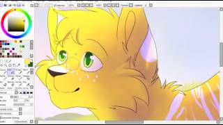 Enjoy the sun! (speedpaint)