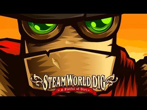 JUEGO RANDOM! Steam World Dig! El Minero Madafaka!