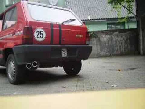 fiat-panda-750-auspuff-25km/h-sound-,-turbo-sound