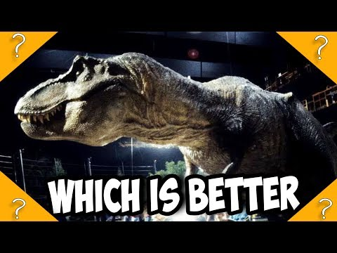 CGI vs Animatronics: Which makes DINOSAURS better in Jurassic World