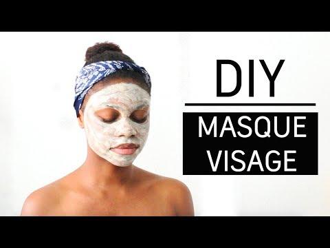 DIY masque visage fait-maison hydratant et purifiant Peau sensible, sèche et irritée - YouTube