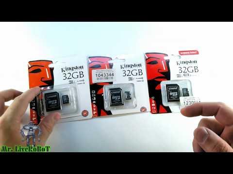 КАРТА ПАМЯТИ 128 GB KINGSTON MicroSDXC Class 10 CANVAS Select РАСПАКОВКА ОБЗОР ПАМЯТИ