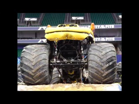 Monster Jam Vivint Smart Home Arena  Salt Lake City Utah 2016