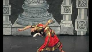 Indian classical Snake Dance nadhar mudimel : Bharatanatyam Kalaimanram Radhini Sivadharan