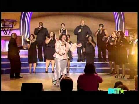 Monica Lisa Stevenson on Bobby Jones Gospel Show 2011 (So Glad He Saved Me)
