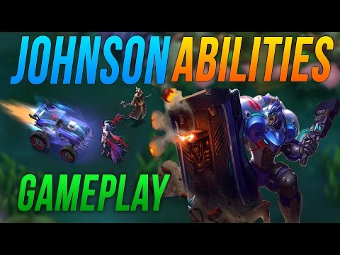 Mobile Legends JOHNSON Gameplay + ABILITIES