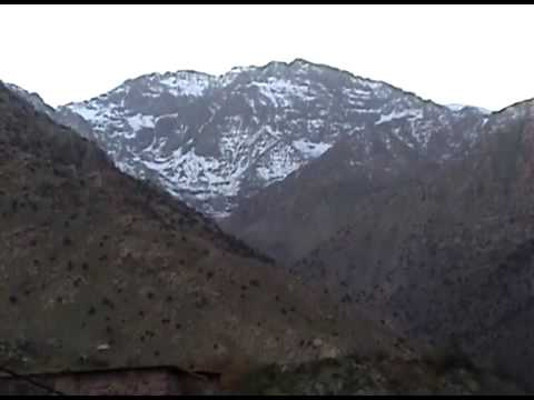 The High Atlas Mountains of Morocco