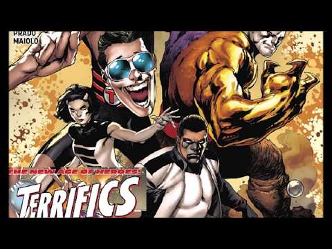 Are The Terrifics Terrific? Or Just A Bad Fantastic Four Clone? A DC New Age Of Heroes Comic Book