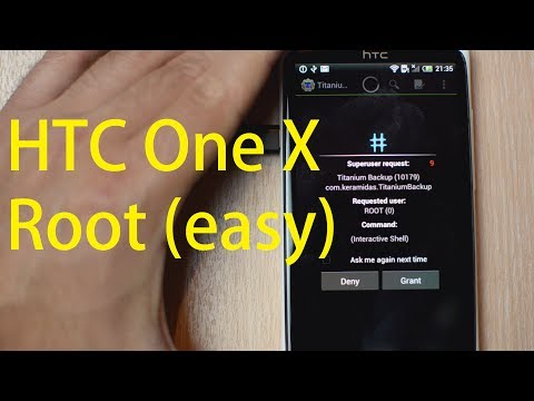 HTC One X - How To Root (Easy)