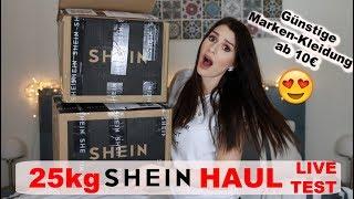 Ich bestelle 25kg MARKEN KLAMOTTEN von SHEIN und teste LIVE