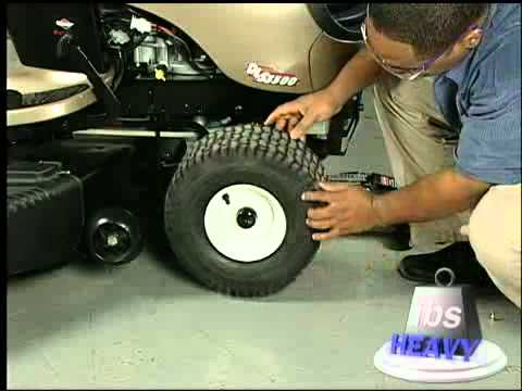 How to Repair a Lawn Tractor Tire Video: Help from Sears PartsDirect