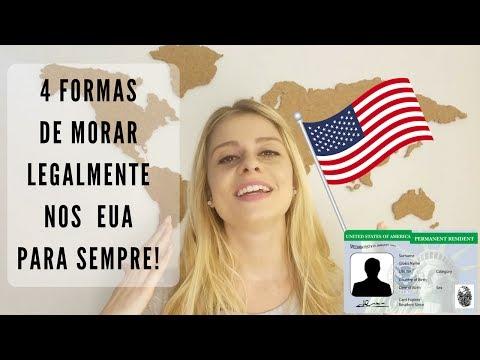 4 FORMAS DE MORAR LEGALMENTE NOS EUA PARA SEMPRE | THE MALA E CUIA
