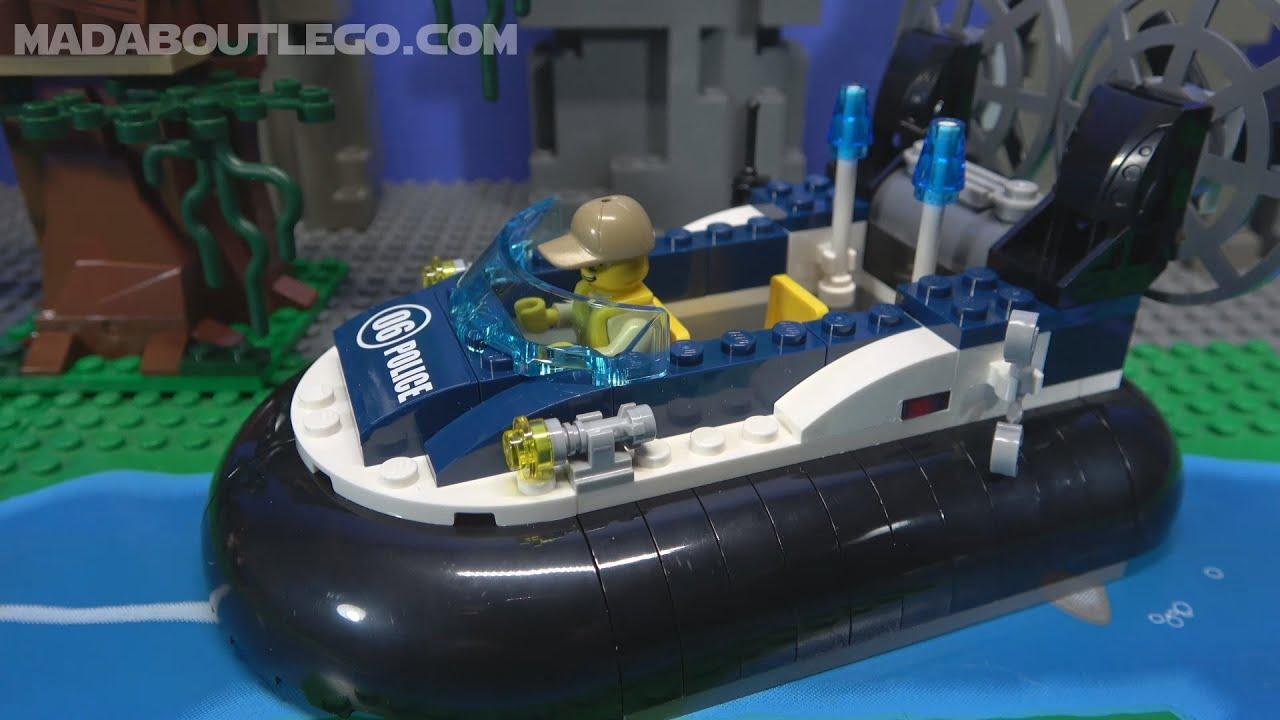 Lego City Swamp Police Hovercraft Arrest 60071 Lego City Lego Police Police