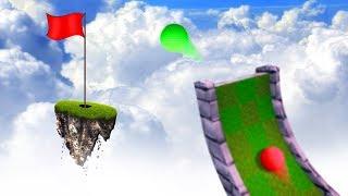 ПРОИГРАВШИЙ В ГОЛЬФ СТАВИТ БОМЖА НА АВУ! (Golf It)