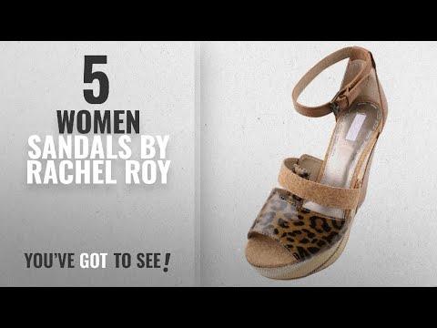 Top 5 Rachel Roy Women Sandals [2018]: Rachel Roy Shainah Womens Brown Cork/Leather/Synthetic