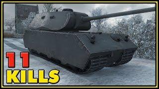 Mäuschen - 11 Kills - World of Tanks Gameplay
