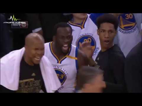 Warriors bench gets T for excessive celebrating