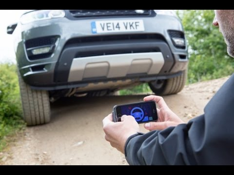 Jaguar Land Rover с управлением через iPhone