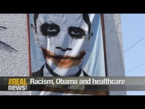 Racism, Obama and healthcare