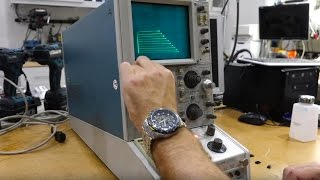 Repeat youtube video Tektronix 577 Curve Tracer Repair and Demo