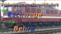 Führerstandsmitfahrt | Eschwege - Bebra