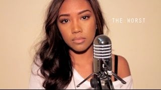 Repeat youtube video The Worst - Jhene Aiko | Olivia Escuyos Cover