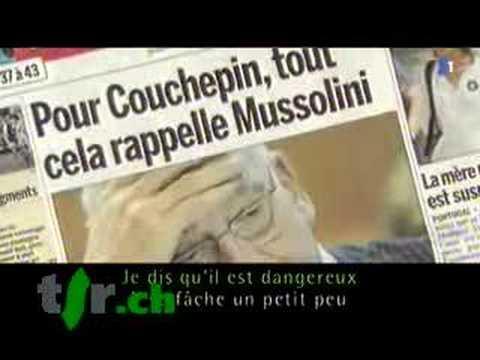 Mise au point: On connaît la chanson, Pascal Couchepin